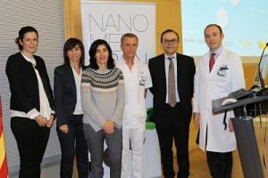 Ponentes de la jornada NanoworldCancerDay en Barcelona. Autor: IBEC