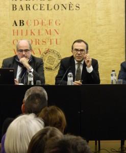 Josep Samitier, el director de l`IBEC, durant la xerrada. Autor: IBEC
