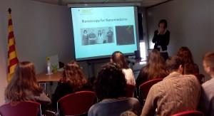 Silvia Pujals parlant sobre la seva recerca