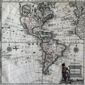Mapa de América. Imagen: Wikipedia, con licencia Creative Commons